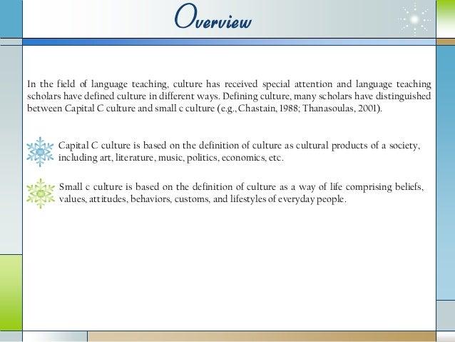 A Qualitative Study of Culture Teaching and Learning: Iranian EFL Tea…