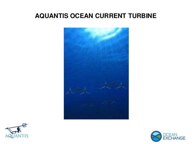 AQUANTIS OCEAN CURRENT TURBINE