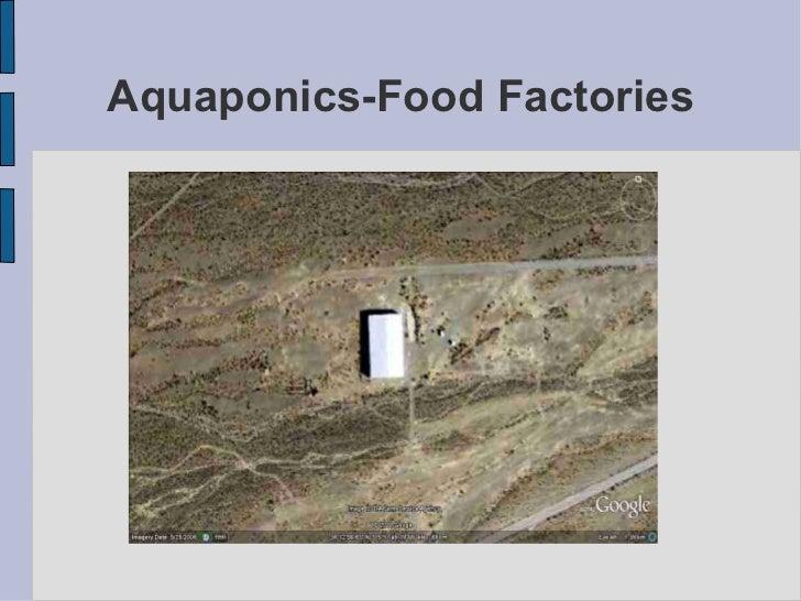 Aquaponics-Food Factories