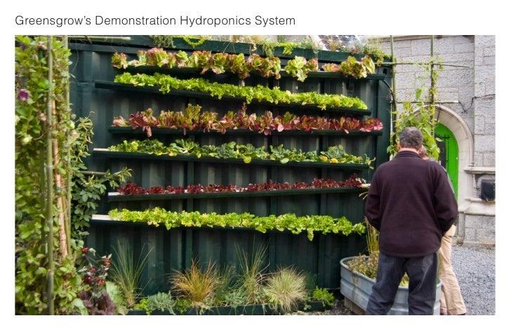 Greensgrow's Demonstration Hydroponics System