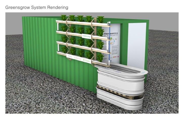 Greensgrow System Rendering