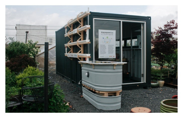 Aquaponics for the Urban Agriculturalist  These components are the main system parts for a scalable and expandable vertica...