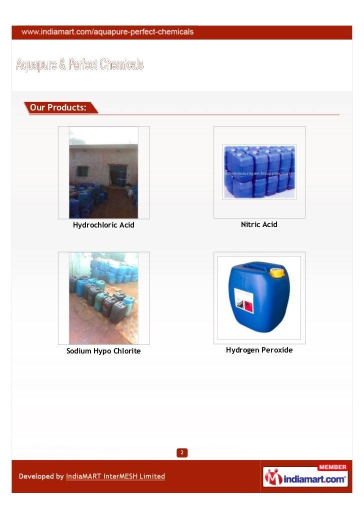 Aquapure & Perfect Chemicals, Bengaluru, Industrial Chemicals Slide 3