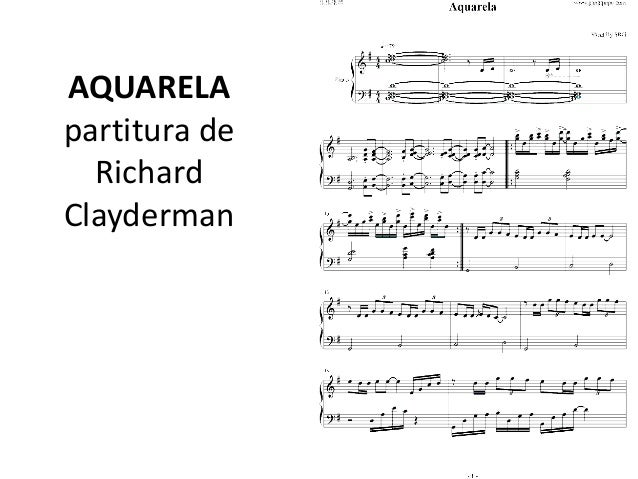 Richard Clayderman Pdf