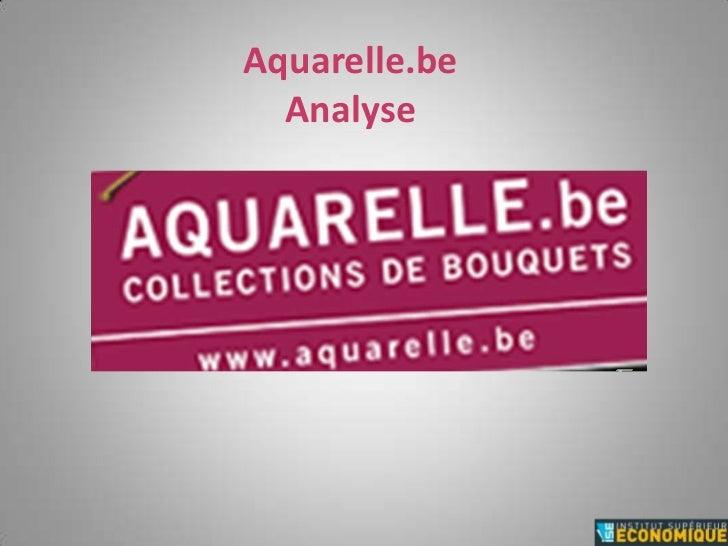 Aquarelle.beAnalyse<br />