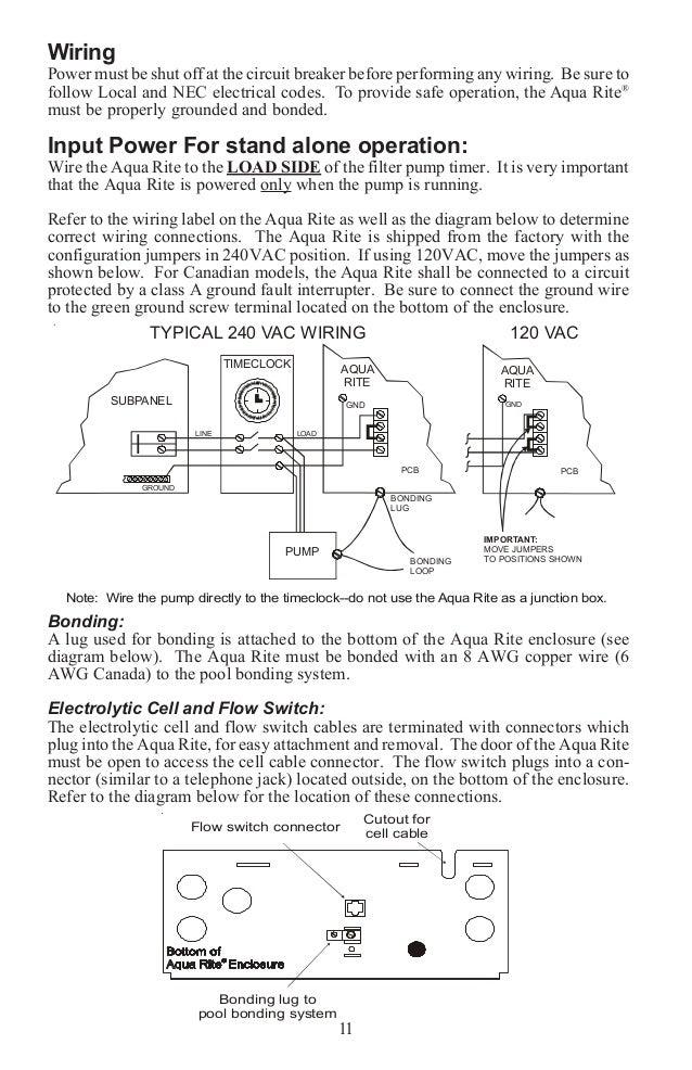 Aqua Rite U0026aquarite Manual