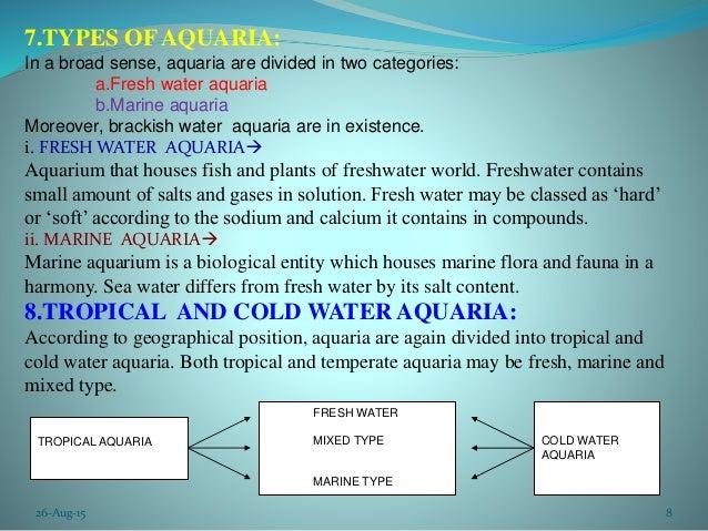 Aquarium And Ornamental Fish Ppt