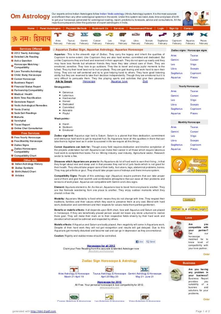 Aquarius Horoscope 12222 For Career