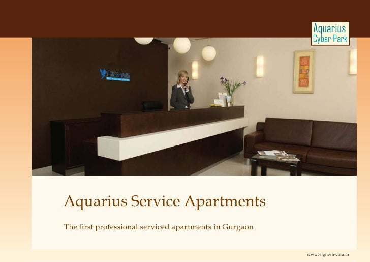 Aquarius Service Apartments The first professional serviced apartments in Gurgaon                                         ...