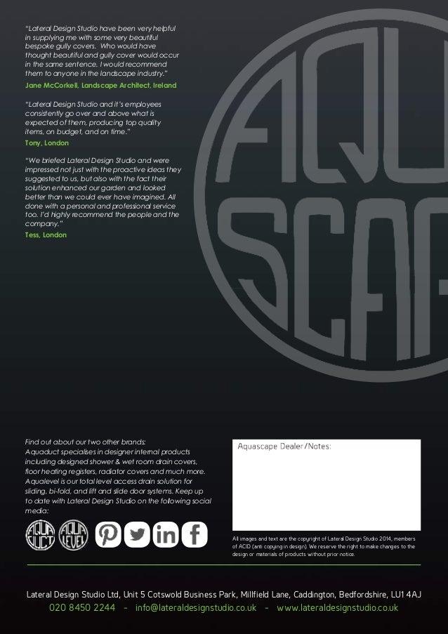 Aquascape Brochure 2017