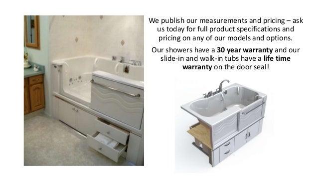 Aquassure Adl Spa Slide In Bathtub
