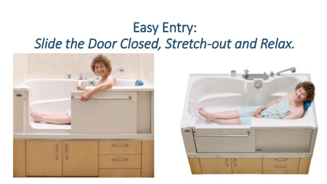 Easy Entry: Slide The Door Closed, Stretch Out And Relax.