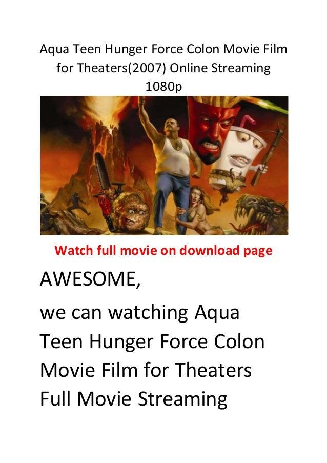 Aqua Teen Movie 105
