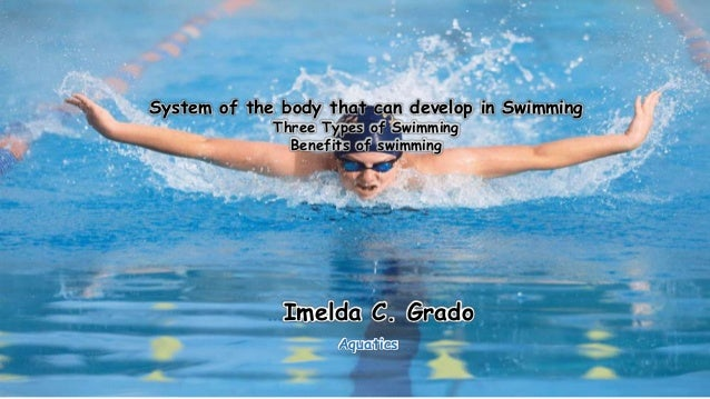the amazing benefits of swimming to the human body Swimming uses all the muscles in the body so whether you swim a gentle breaststroke or hammer butterfly, you will get a full body workout plus, exercising in water makes your body work harder so 30 minutes in a pool is worth 45 minutes of the same activity on land.