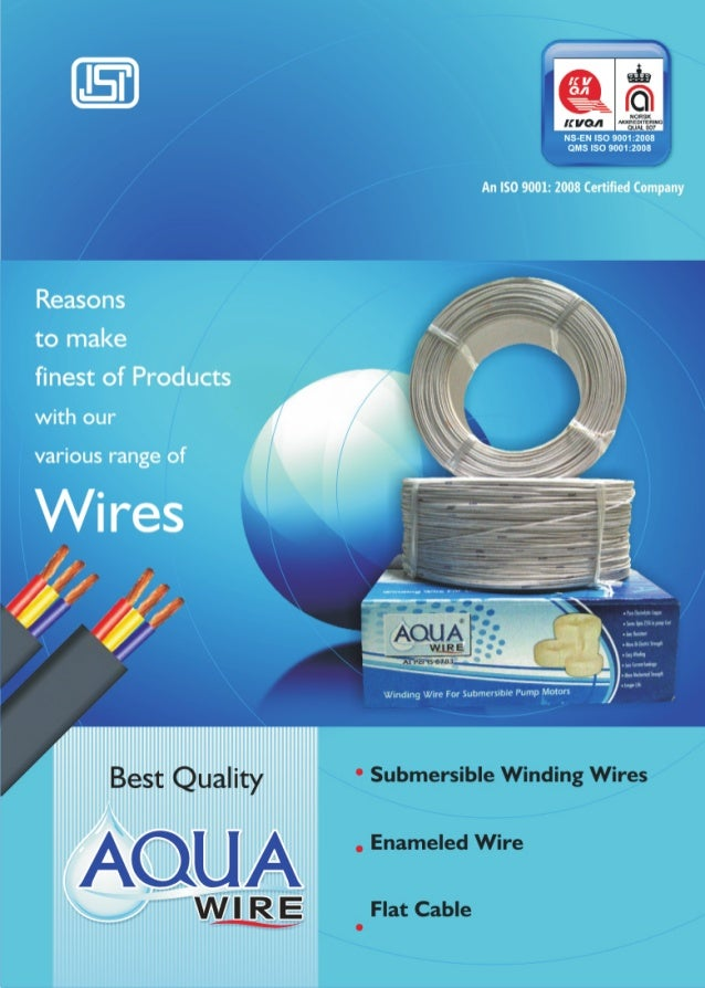 wvvw. aquawindingwire. com   Veer Industries   (A Unit of Reliable Melal Industries Delhi) /  WI R E  An ISO 9001:2008 Cer...
