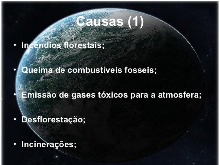 Aquecimento  Global Slide 3