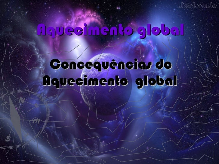 Aquecimento global Concequências do   Aquecimento  global