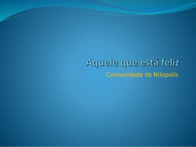 Comunidade de Nilopolis