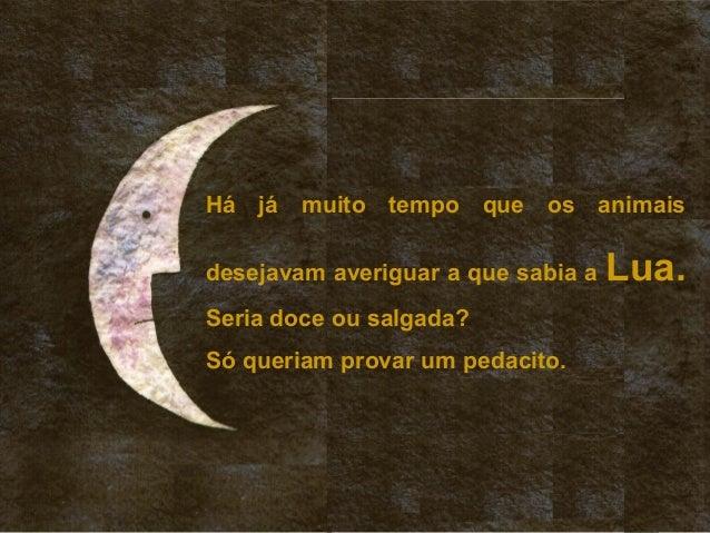 A que sabe a lua Slide 2