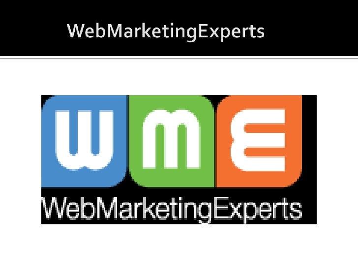 WebMarketingExperts<br />