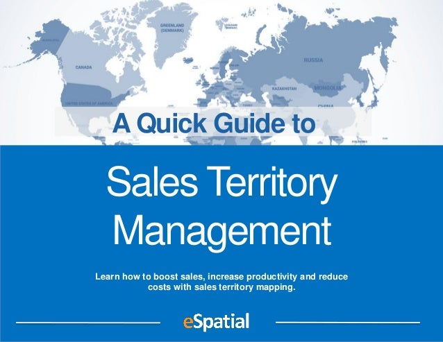 Learn how to boost sales, increase productivity and reduce costs with sales territory mapping. Sales Territory Management ...
