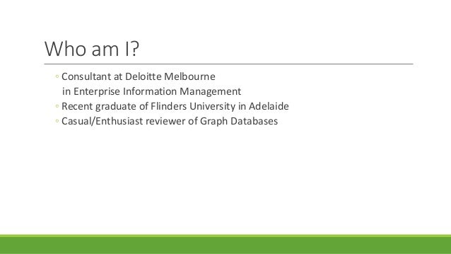 A quick review of Python and Graph Databases Slide 2