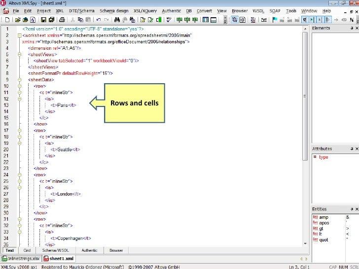 A Quick Tour Of Open XML Formats