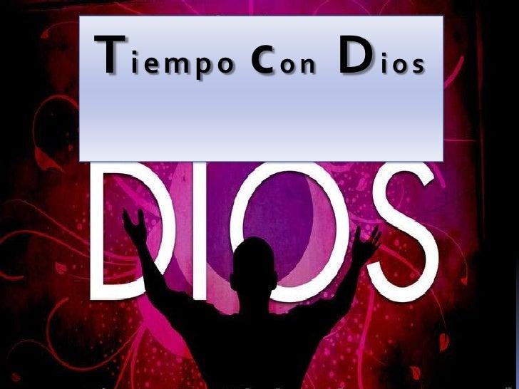 Tiempo con Dios<br />