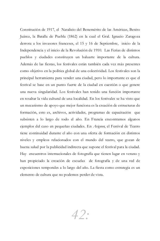 """43: Activismo cultural: espacio público y arte """"Activismo cultural como la utilización de medios culturales que traten de ..."""