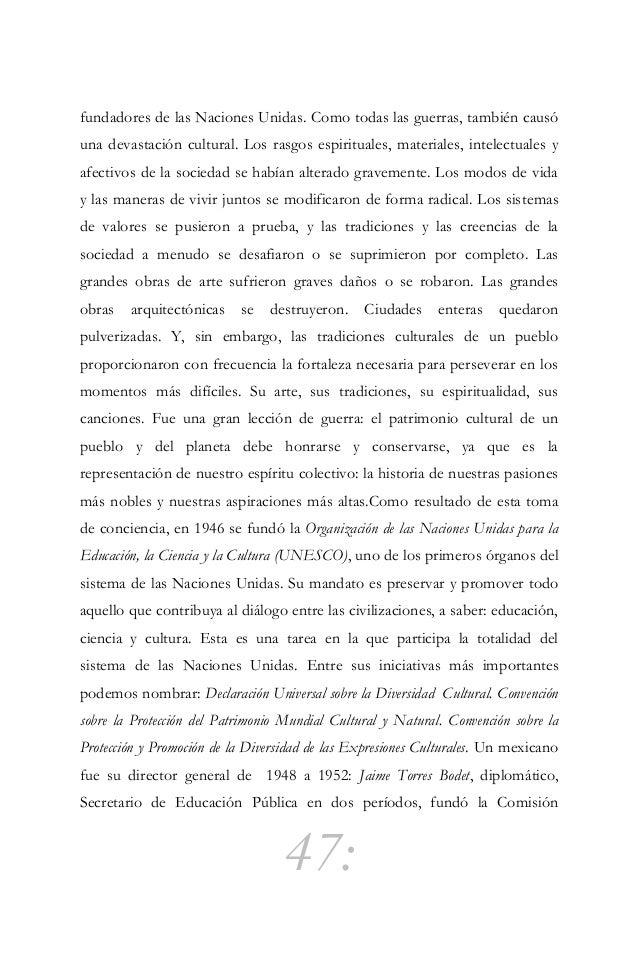 48: Nacional de Libros de Texto Gratuitos y promovió la construcción del Museo Nacional de Antropología, del Museo de Arte...