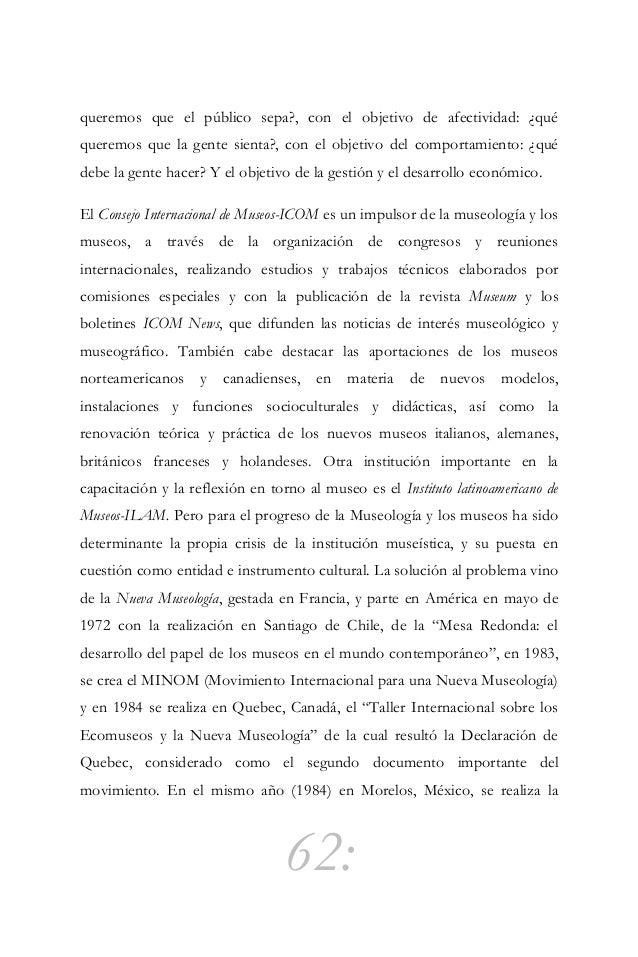 """63: reunión """"Ecomuseos: El hombre y su entorno"""" que dio como resultado la Declaratoria de Oaxtepec. Esta Nueva Museología ..."""