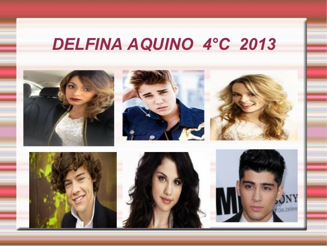 DELFINA AQUINO 4°C 2013