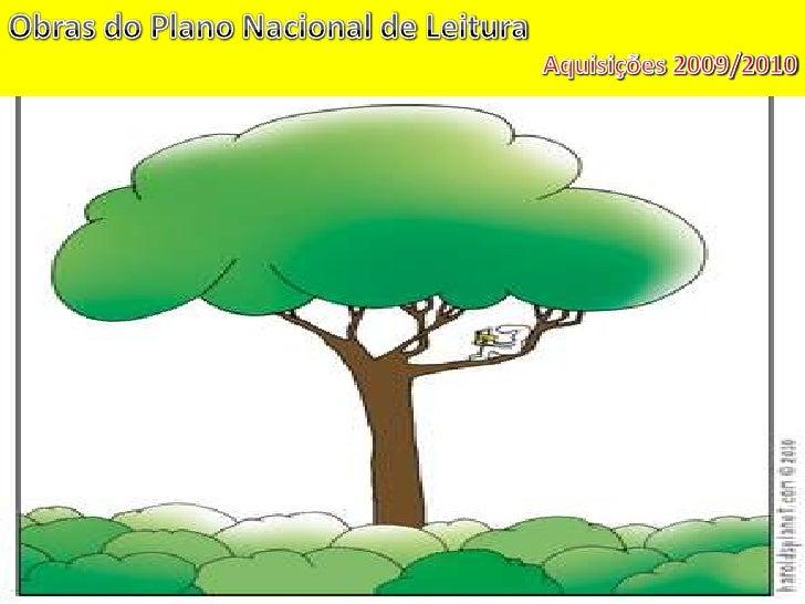 Obras do Plano Nacional de Leitura<br />Aquisições 2009/2010<br />