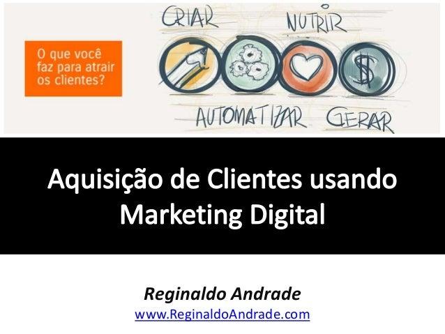 Reginaldo Andrade www.ReginaldoAndrade.com