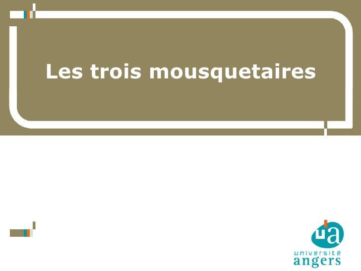 Les trois mousquetaires     1   29 juin 2009 / ABF / CG47 / Pont-du-Casse     Daniel Bourrion / Service Commun de Document...