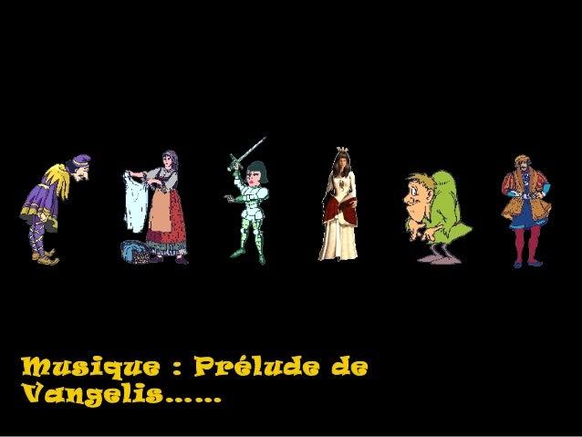Musique : Prélude deMusique : Prélude deVangelis……Vangelis……