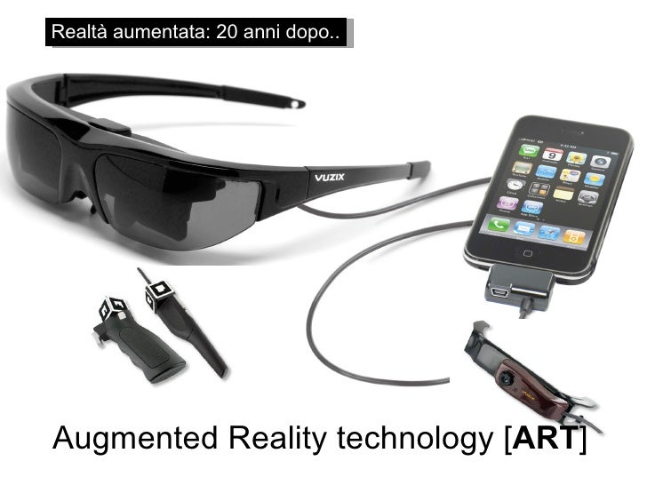 Realtà aumentata: 20 anni dopo.. Augmented Reality technology [ ART ]