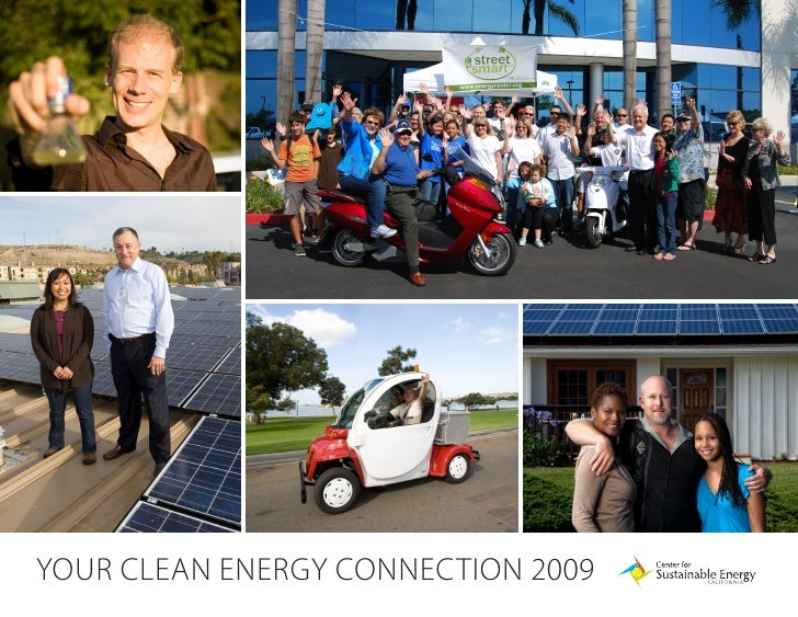 Your Clean energY ConneCtion 2009   1