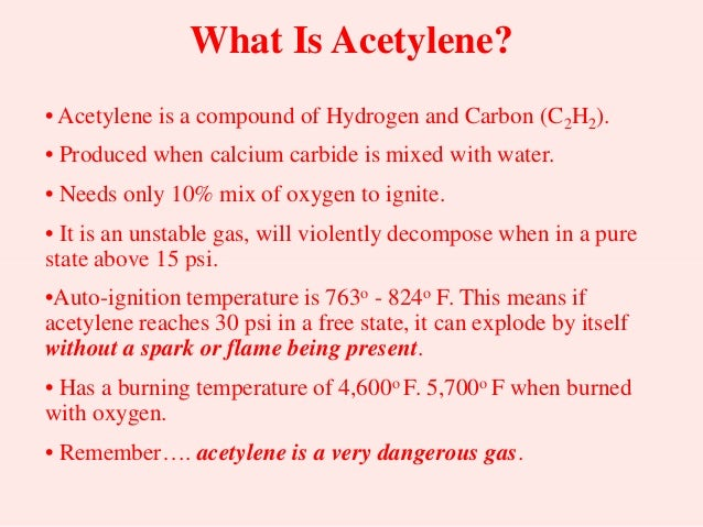 Ar Oxygen Acetylene Use And Safety