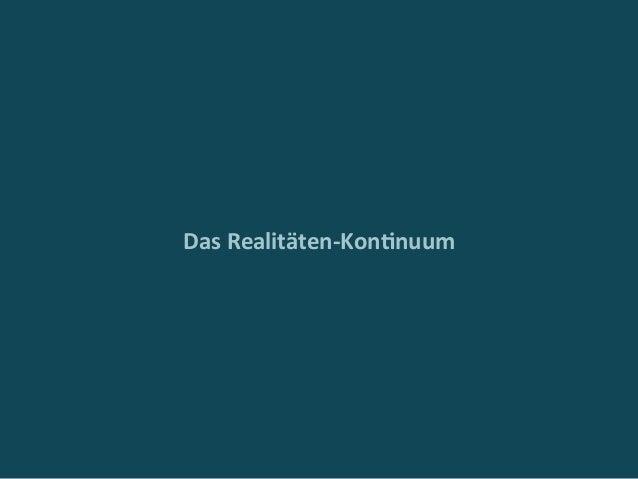 DasRealitäten-Kon4nuum