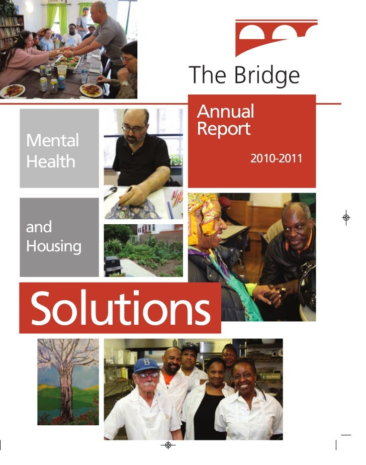 Annual          ReportMentalHealth         2010-2011andHousingSolutions