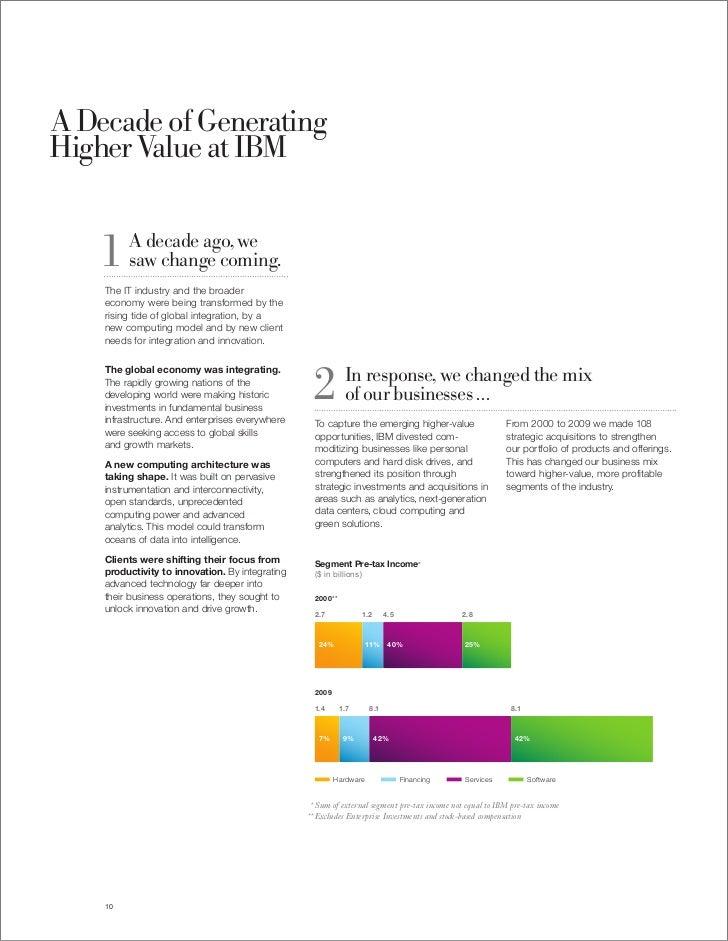 ibm annual report 2009