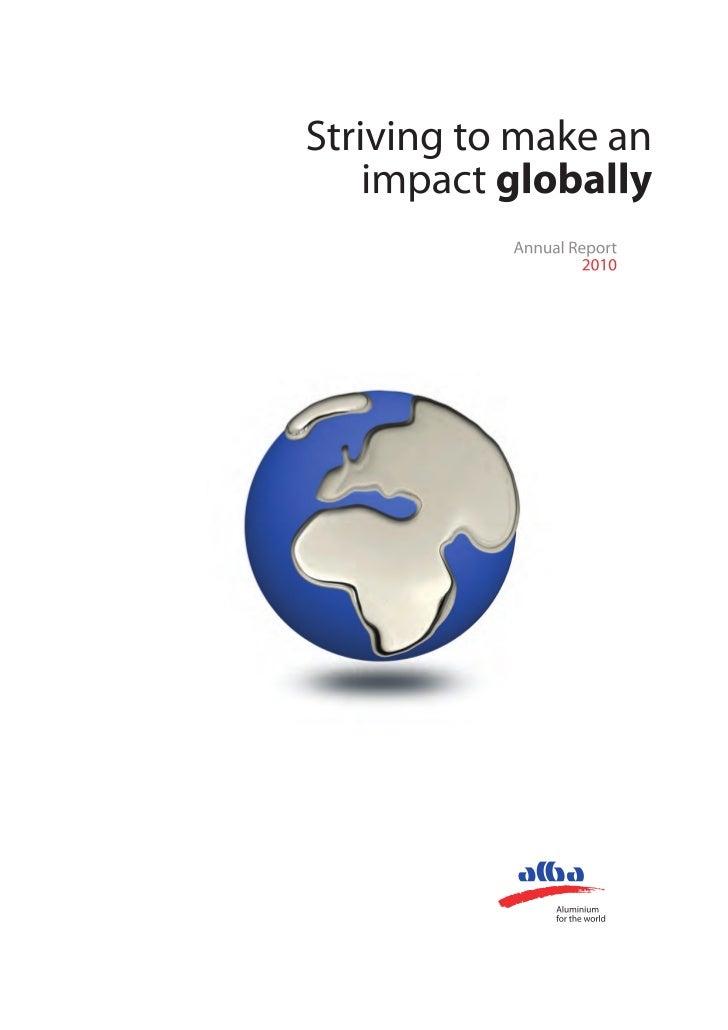 Annual Report 2010 1