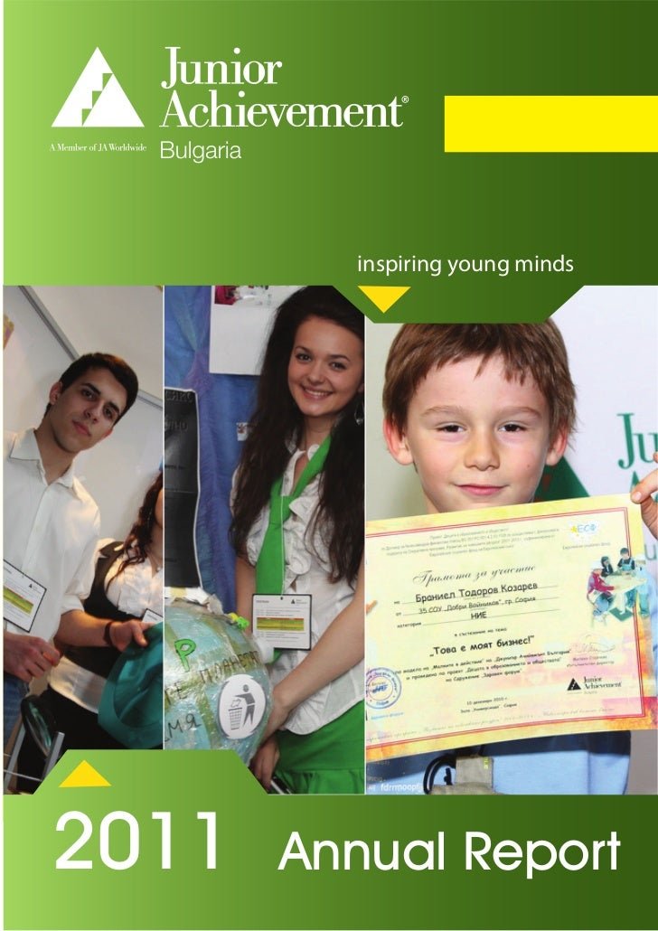 inspiring young minds2011       AnnualANNUAL REPORT          Report
