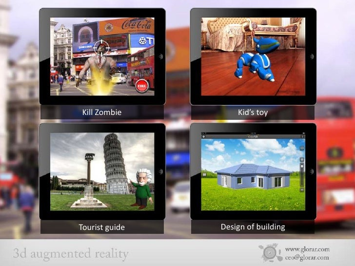 Augmented Reality: 100 Uses Cases By AR23D Studio  Slide 2