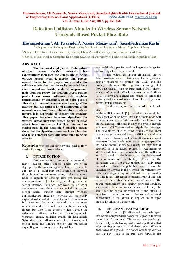Hosamsoleman, Ali Payandeh, Nasser Mozayyani, SaeedSedighianKashi/ International Journal of Engineering Research and Appli...