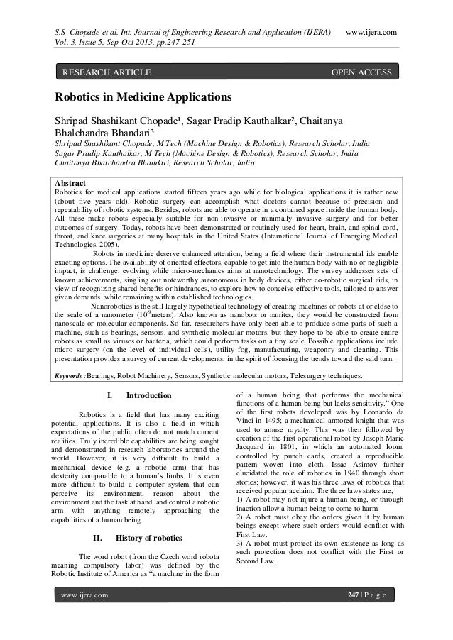 S.S Chopade et al. Int. Journal of Engineering Research and Application (IJERA) www.ijera.com Vol. 3, Issue 5, Sep-Oct 201...