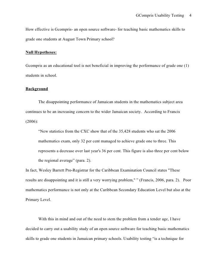 research paper set up koni polycode co
