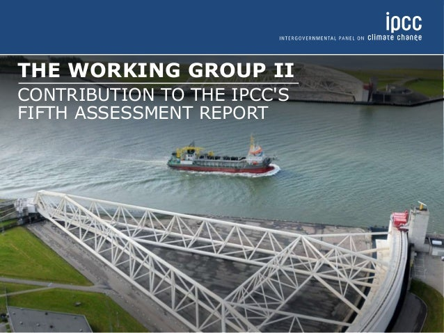 THE WORKING GROUP II  CONTRIBUTION TO THE IPCC'S  FIFTH ASSESSMENT REPORT