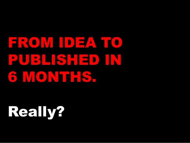 how to write a novel in six months